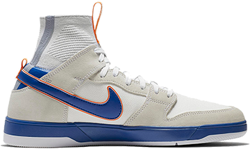 huge selection of 0b4ae 68cdf Buty Nike SB X Medicom Dunk High Elite QS (White   College Blue)