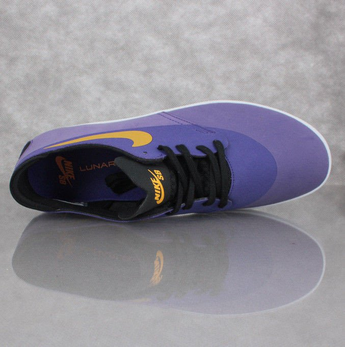 new products b71fd 1dfe7 Buty NIKE SB Lunar ONESHOT Los Angeles QS Court purple