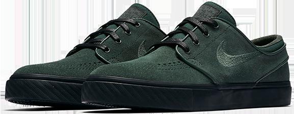 3928ee3b79806 Buty Nike SB Zoom Stefan Janoski (Midnight Green   Black)