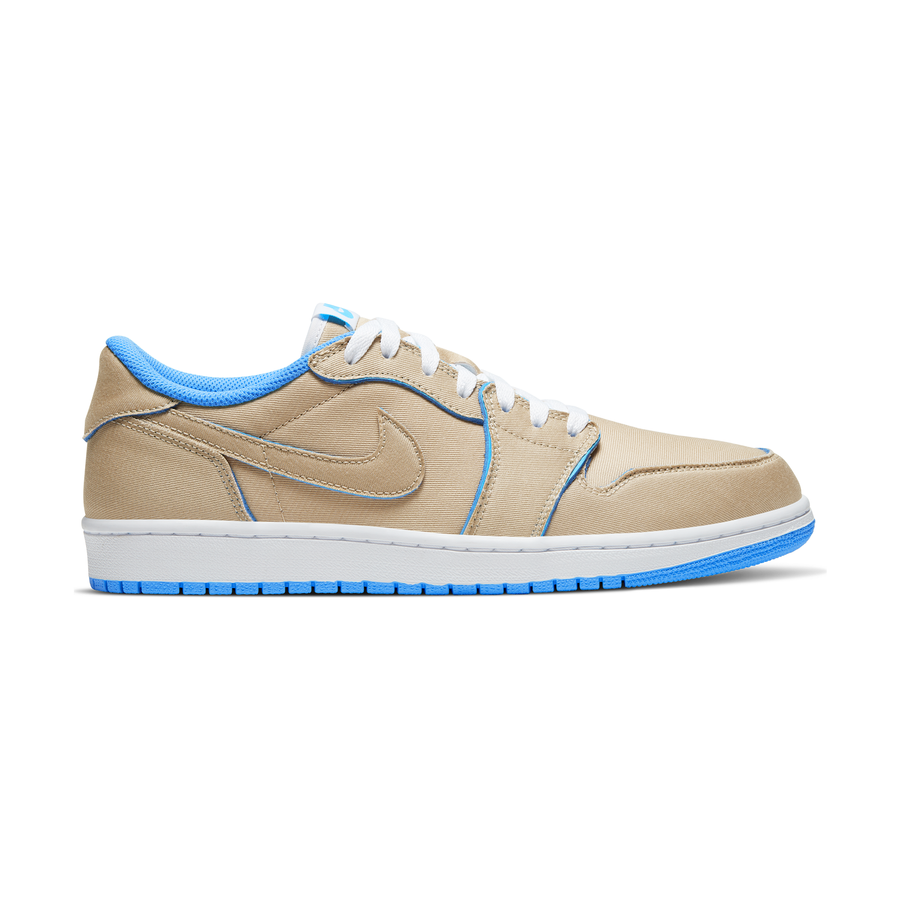 Buty Nike SB Air Jordan 1 Low (Desert Ore Royal Blue Dark Powder Blue)