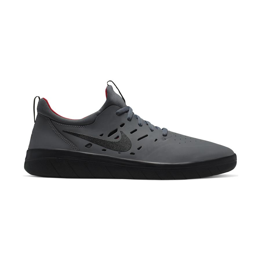 Buty Nike SB Nyjah Free (Dark Grey Black Gym Red)