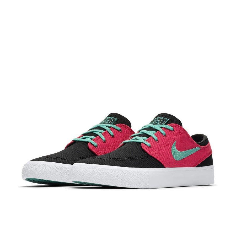 Buty Nike SB Zoom Janoski Canvas RM (Black True Green Atom Red White)