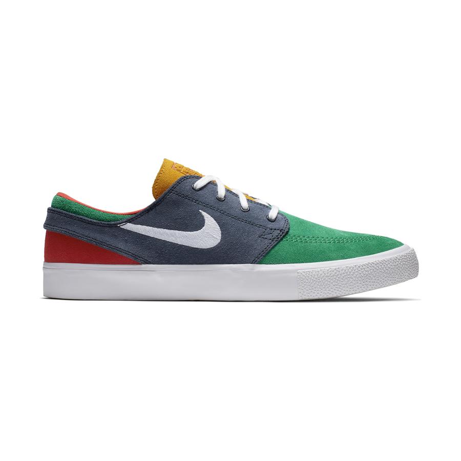 tani najlepszy dostawca buty na codzień Buty Nike SB Zoom Janoski RM (Lucid Green / White / Obsidian)