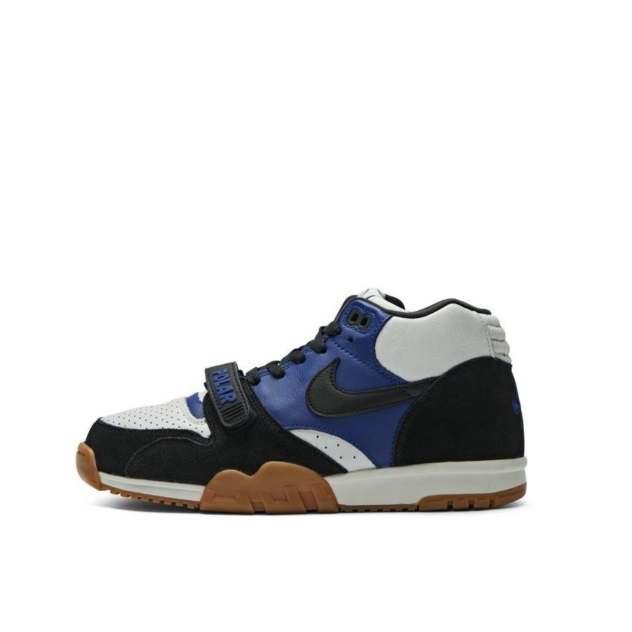 buty skate najlepsza obsługa buty skate Buty Nike SB x Polar Skate Co. Air Trainer I (Black / Deep Royal Blue /  Summit White)