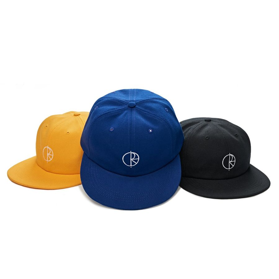 c24623d4914 CZAPKA Z DASZKIEM POLAR SKATE CO. CANVAS CAP (ROYAL BLUE)