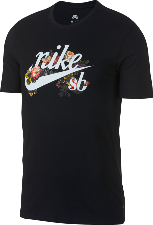 528a287a8 Koszulka Nike SB Dry T-Shirt (Black / White)