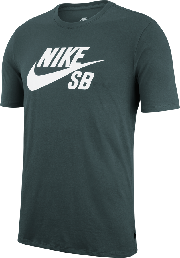 gorąca sprzedaż online fantastyczne oszczędności jakość wykonania Koszulka Nike SB Logo T-Shirt (Midnight Green / White)