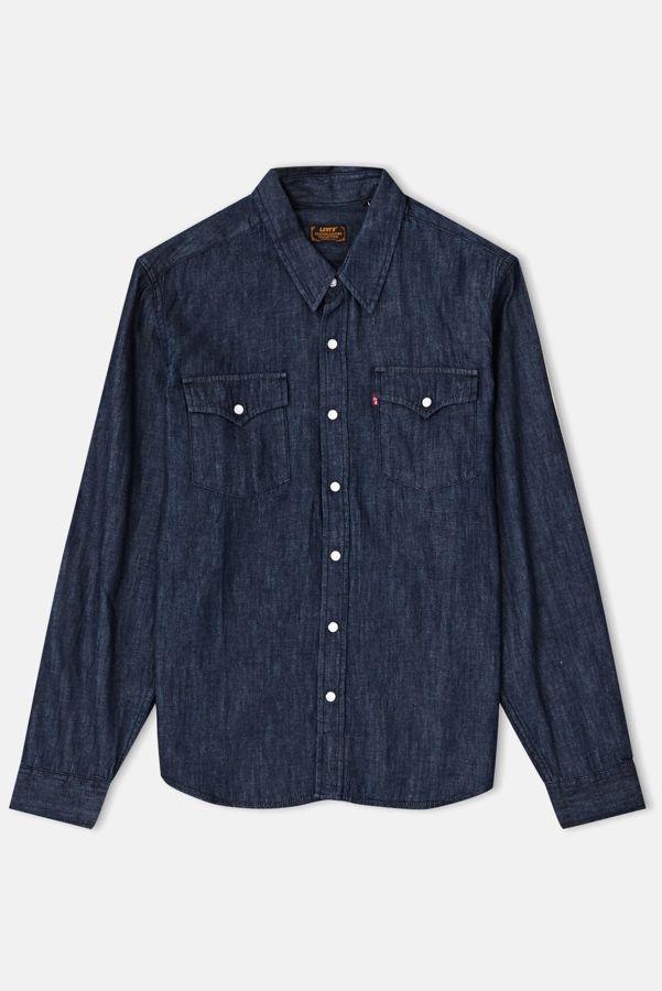 Koszula Levi s® Skateboarding Western Shirt (Western Rinse) b99f8b18039
