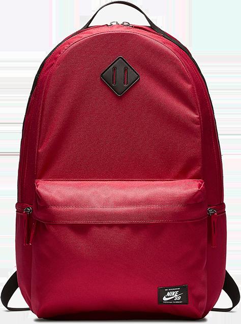 35aa530450a5f Plecak Nike SB Icon (Red Crush   Black)