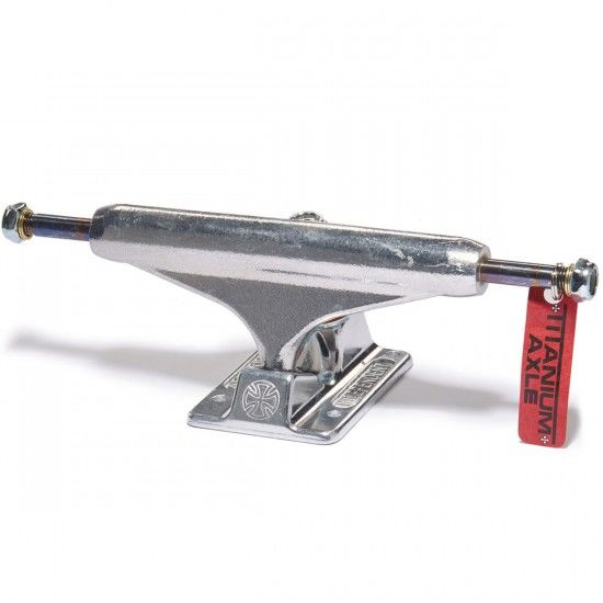 Trucki Independent Truck Co. Forged Titanium Silver ...