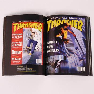 Album Thrasher Maximum Rad: The Iconic Covers of Thrasher Magazine