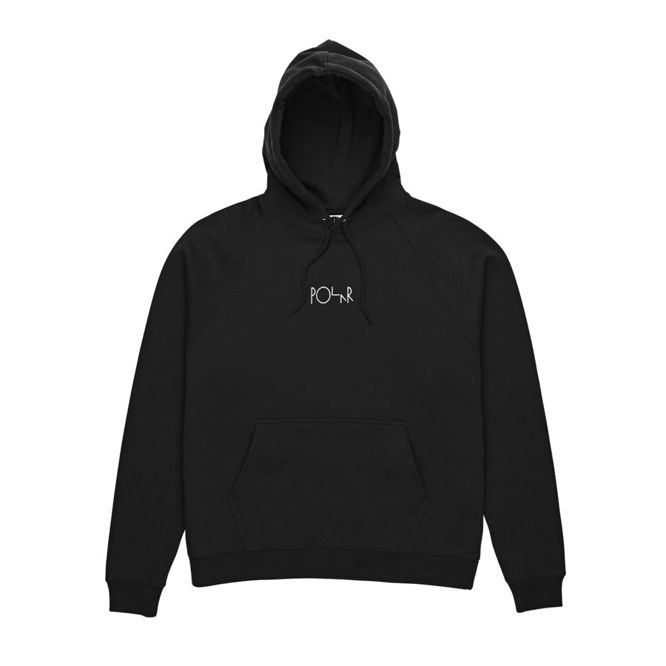 BLUZA POLAR SKATE CO. DEFAULT HOOD (BLACK)