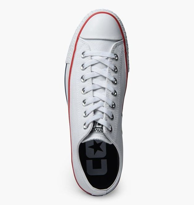 BUTY CONVERSE CONS CTAS PRO OX CANVAS (WHITE/RED)