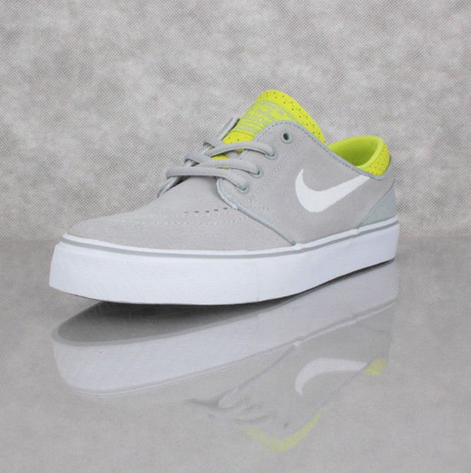 Buty NIKE SB Zoom Stefan Janoski GS Grey / White / Green