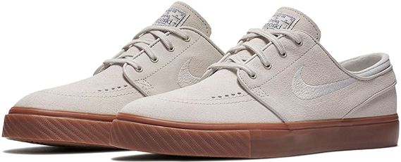 Buty NIKE SB Zoom Stefan Janoski (Light Bone / Thunder Blue)