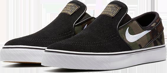 418e0db732 Buty Nike SB Zoom Stefan Janoski Slip (Black   Camo)