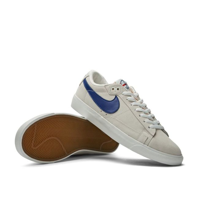 Buty Nike SB x Polar Skate Co. Zoom Blazer Low GT QS (Summit White / Deep Royal Blue)
