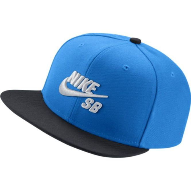 CZAPKA NIKE SB ICON SNAPBACK Photo Blue / Black / White