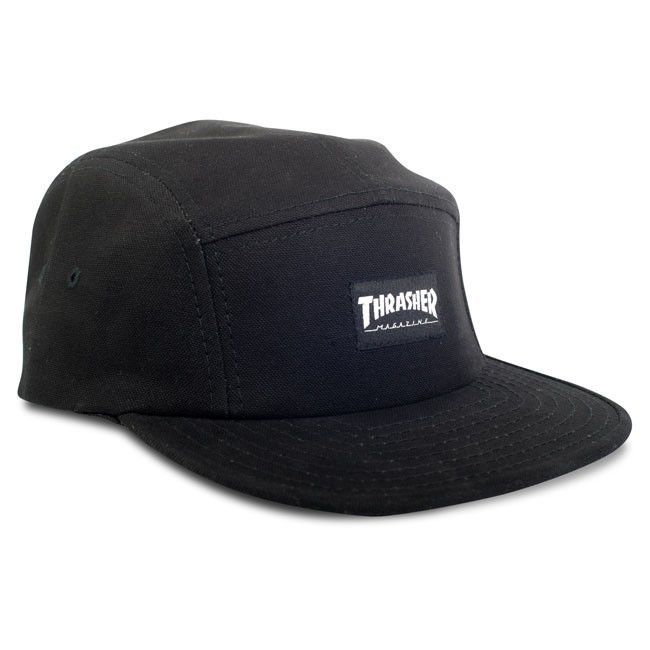 Czapka Thrasher 5 Panel Cap Black