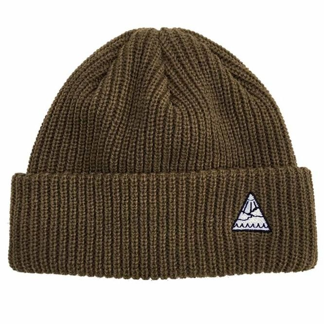 Czapka zimowa Youth Skateboards Triangle Logo Beanie (Coffee)