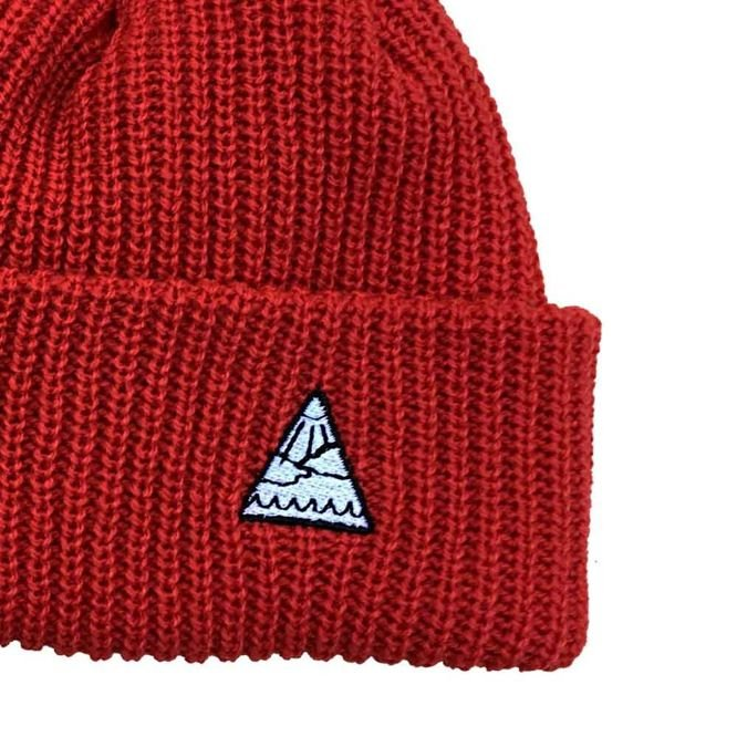 Czapka zimowa Youth Skateboards Triangle Logo Beanie (Red)