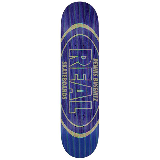 "DECK REAL DENNIS BUSENITZ HOLOGRAPHIC OVAL 8,18"" x 31,84"""