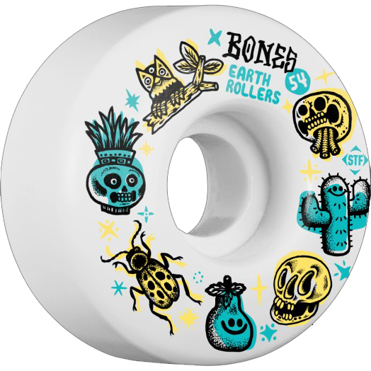 KOŁA BONES WHEELS STF EARTH ROLLERS V1 54 MM
