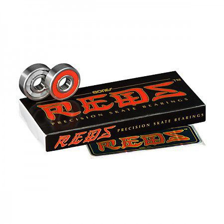Łożyska Bones® REDS® Skateboard Bearings (8 pack)
