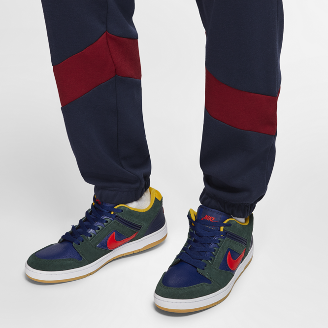 Spodnie dresowe Nike SB Dri-FIT Icon (Obsidian / Team Red)