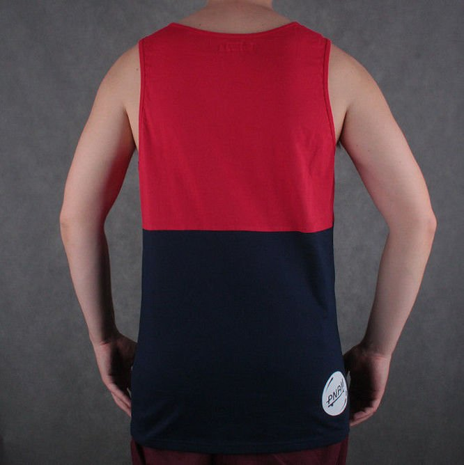 Tanktop Panorama Limited 2colors red/navy